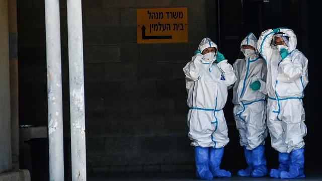 İsrailde vaka sayısı 1 milyonu geçti