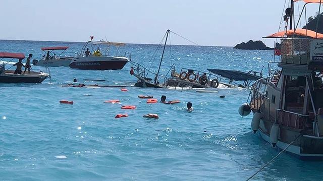 Fethiyede batan teknenin kaptanı serbest bırakıldı