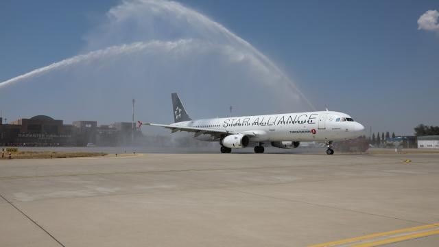 Gaziantepten Avrupadaki 7 noktaya direkt uçak seferleri başladı