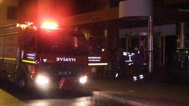 Adanada iş yeri yangını