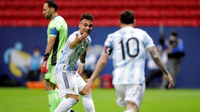 Kupa Amerikada finalin adı: Brezilya-Arjantin