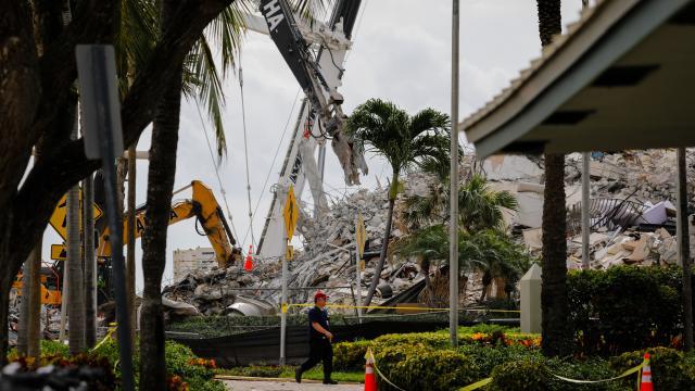 ABDde çöken binada umutlar tükendi