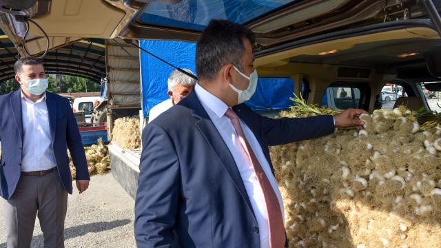 """Kastamonuda mayıs ve haziranda kapalı olan """"Sarımsak Pazarı"""" açıldı"""