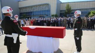 Şehit Piyade Astsubay Cihan Çifcibaşı için tören düzenlendi