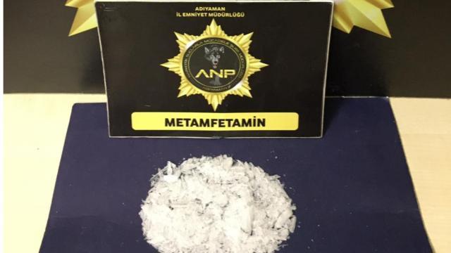 Meyve suyu kutusunda 22,5 gram metamfetamin maddesi ele geçirildi