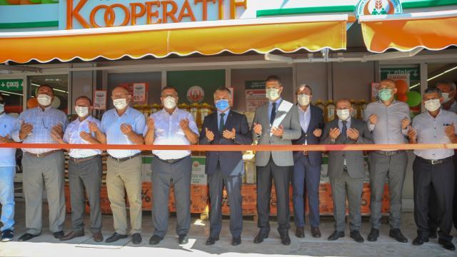 Tarım Kredi Kooperatif Marketin 355inci şubesi Antalyada açıldı