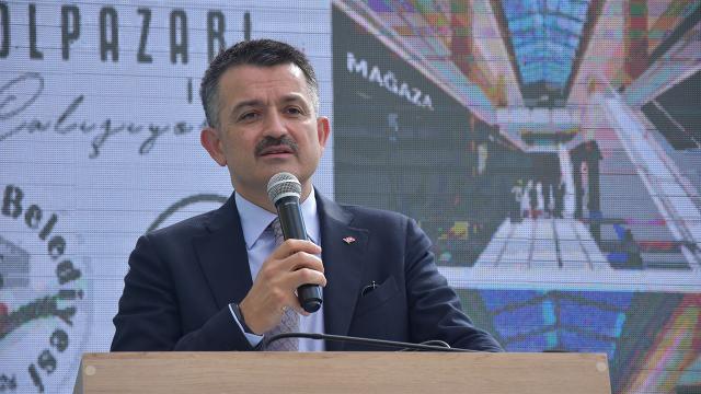 Bakan Pakdemirli: Marmarada tutulan balıkların yenmesiyle ilgili sorun yok