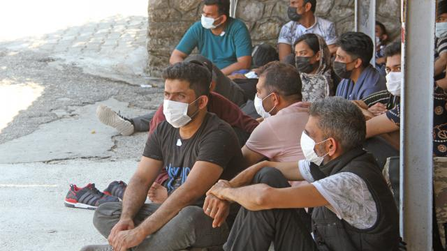 Kırklarelinde 71 düzensiz göçmen yakalandı