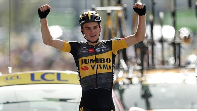 Fransa Bisiklet Turunun 15. etabını Sepp Kuss kazandı