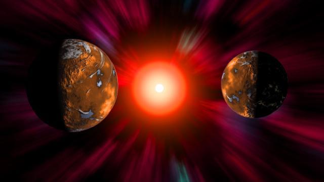 Yüksek hızlı güneş fırtınası Dünyayı vurabilir