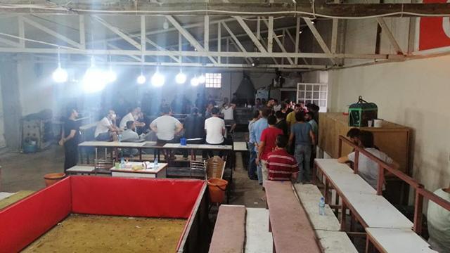 Gaziantepte horoz dövüştürülen çiftliğe baskın: 40 kişiye 60 bin lira ceza