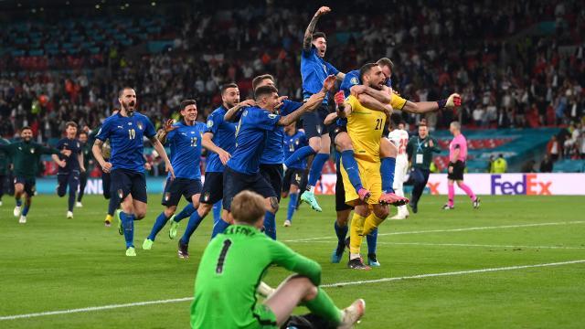 İtalya Avrupa Şampiyonu