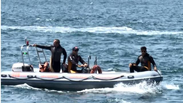 İstanbulda serinlemek için denize giren kişi kayboldu
