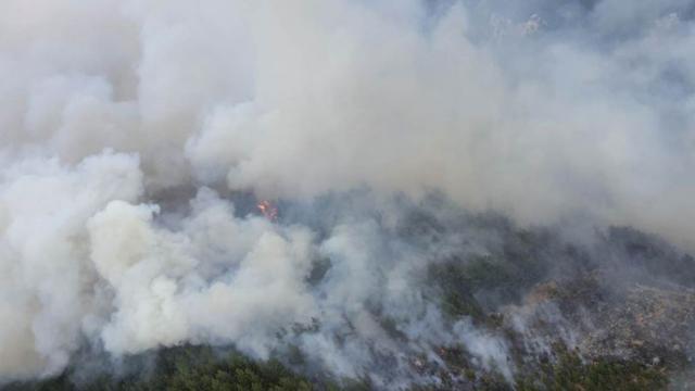 Lübnandaki yangın 3 gün sonra kontrol altına alındı: 20 bin dekarlık alan yandı
