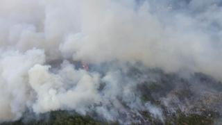 Lübnan'daki yangın 3 gün sonra kontrol altına alındı: 20 bin dekarlık alan yandı