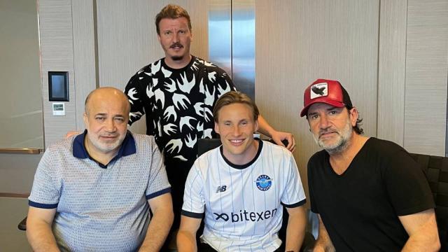 Jonas Svensson Adana Demirsporda