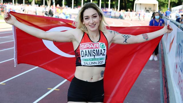 Milli atlet Tuğba Danışmaz Avrupa şampiyonu oldu