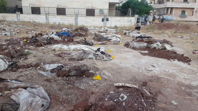Afrinde PKK vahşeti: 35 sivilin cansız bedeni bulundu