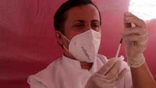 Kastamonu'da mobil aşı istasyonunda randevusuz Covid-19 aşısı uygulaması başlatıldı