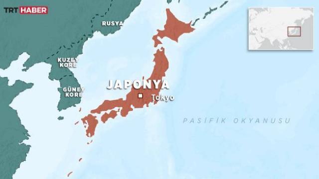Japonyada 6 büyüklüğünde deprem