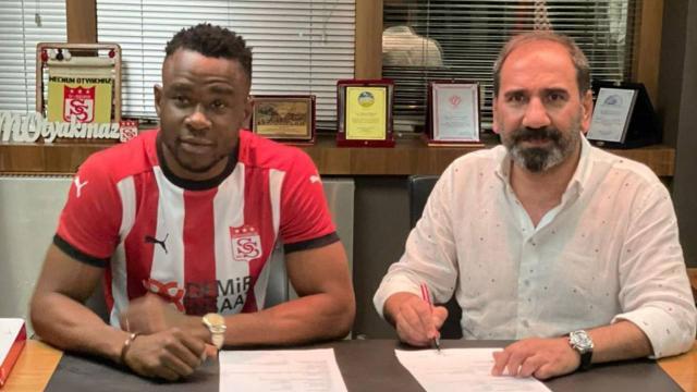 Sivasspor, Leke Samson Jamesi transfer etti