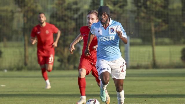 Trabzonspordan gollü prova