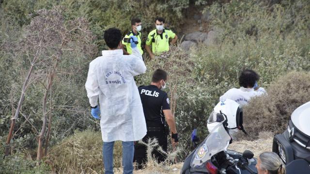 Bodrumda motosiklet dereye uçtu: 2 ölü