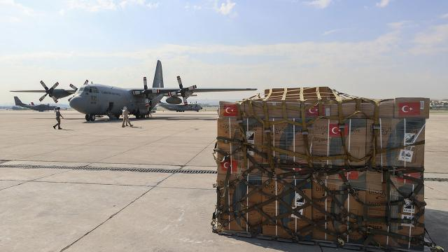 Türkiyeden Tunusa yardım eli