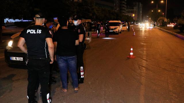 Adanada helikopter destekli huzur uygulaması