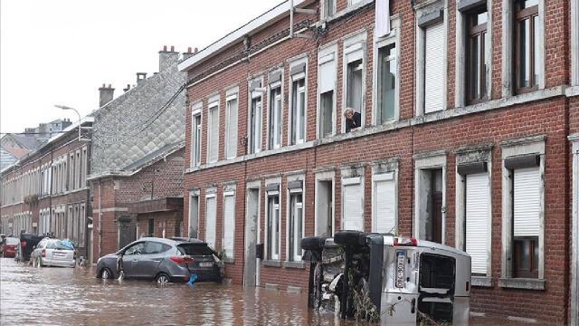Belçikadaki sel felaketinde ölenlerin sayısı 27ye çıktı