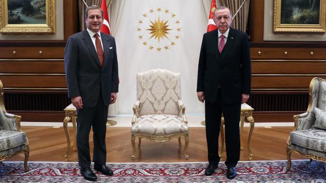 Cumhurbaşkanı Erdoğan, Burak Elması kabul etti