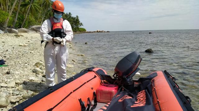 Endonezyada balıkçı tekneleri alabora oldu
