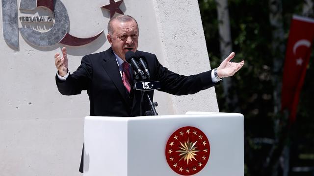 Cumhurbaşkanı Erdoğan: Yeni Türkiyenin istikbal mücadelesinin önderleri hep minnetle anılacaktır