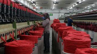 Uşak'ta tekstil atıkları ekonomiye kazandırılıyor