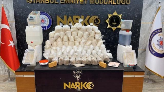 İstanbulda 191 kilogram uyuşturucu ele geçirildi