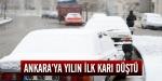 Ankaraya yılın ilk karı düştü