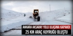 Ankara-Aksaray karayolu kapandı