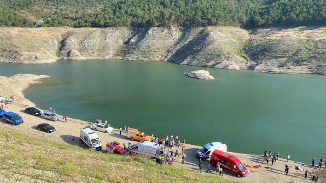 Baraj gölü 5 kişilik aileyi yuttu