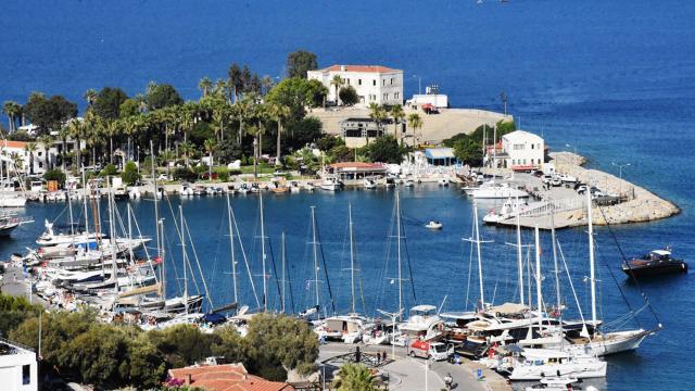 Datçaya bayramda nüfusunun 4 katı turist