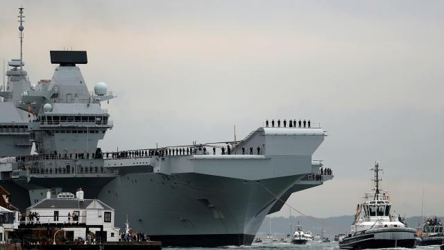 İngiltere, Asya Pasifikte kalıcı olarak iki savaş gemisi konuşlandıracak