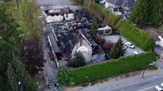 """Kanada'da bir kilise daha """"şüpheli"""" yangında kül oldu"""