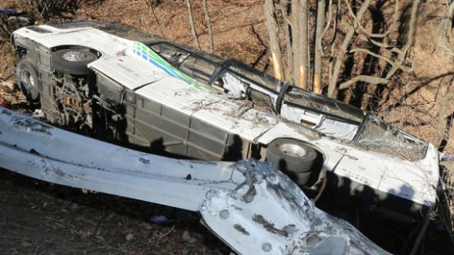 Nijeryada iki yolcu otobüsü çarpıştı: 16 ölü