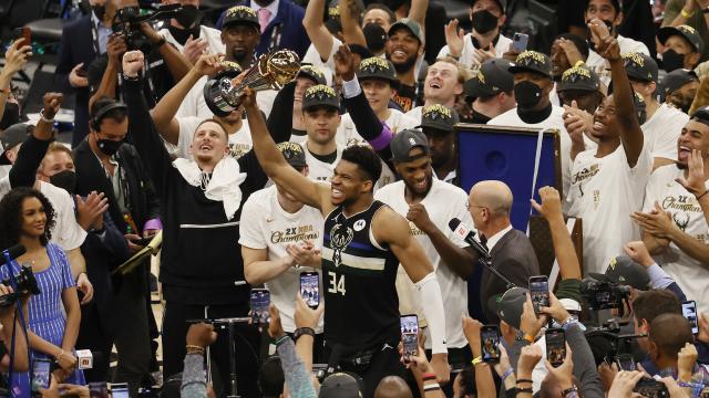 Milwaukee Bucksın 50 yıllık şampiyonluk hasreti sona erdi