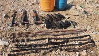 Van'da PKK'ya ait sığınak ve mühimmat ele geçirildi