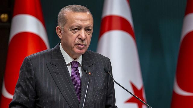 Cumhurbaşkanı Erdoğan KKTCye gidiyor