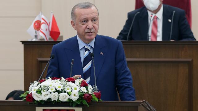 Cumhurbaşkanı Erdoğandan KKTCye külliye müjdesi