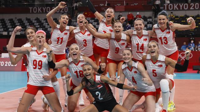 A Milli Kadın Voleybol Takımının Avrupa Şampiyonası kadrosu açıklandı
