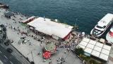 İstanbul'da kalanlar Adalar'a akın etti