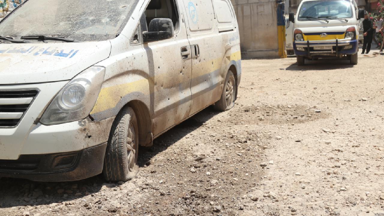 AA: Afrin'de roketli saldırıda 7 sivil yaralandı