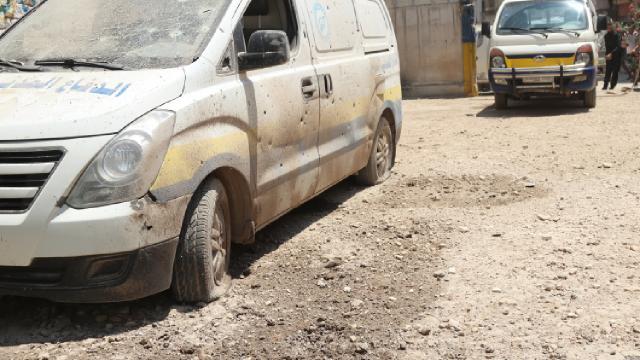 AA: Afrinde roketli saldırıda 7 sivil yaralandı